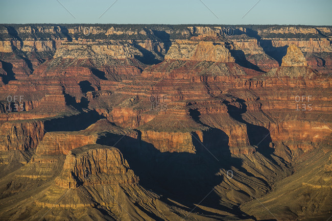 Scenery of Grand Canyon National Park, Arizona, USA