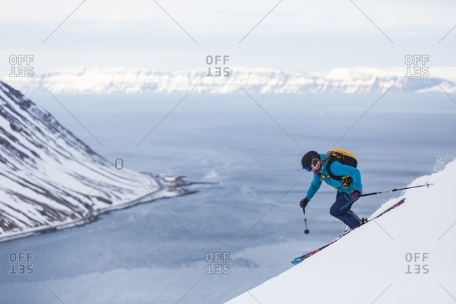 Backcountry Skiing in Iceland - Offset