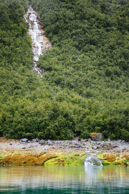View Of Wachusett Inlet, Glacier Bay National Park In Alaska, Usa