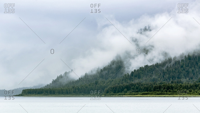 View Of Muir Inlet In Glacier Bay National Park, Alaska, Usa
