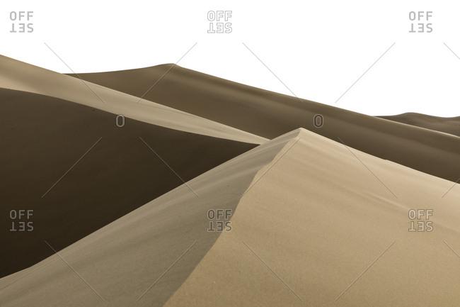 Sand dunes in Gobi Desert,  Park, , Mongolia