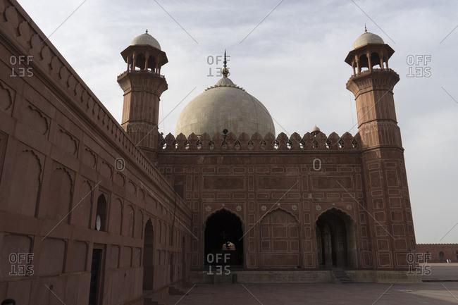 Badshahi Mosque, the grandest of Pakistan's Mughal-era mosques, Lahore, Pakistan