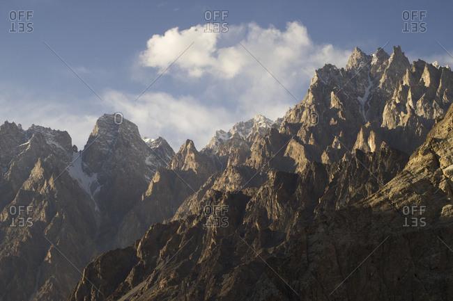 Passu Cones, Gilgit-Baltistan, Pakistan