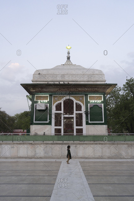 Lahore, Pakistan - April 30, 2018: Shrine of Mian Mir (Baba Sain Mir Mohammed Sahib)