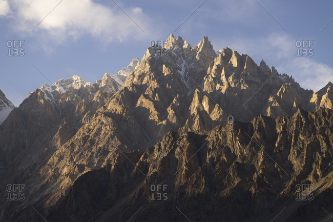Passu Cones in Gilgit-Baltistan, Pakistan