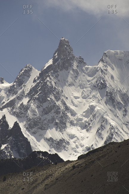 Karakorum Peaks of Hunza, Gilgit-Baltistan, Pakistan