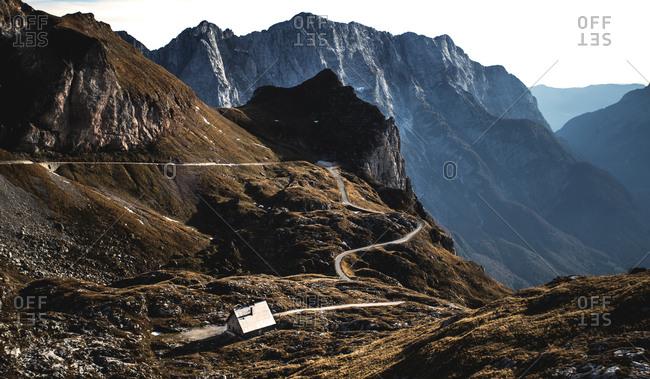 Mountain landscape in Slovenia