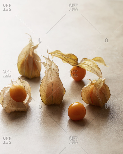 Cape Gooseberries in a group
