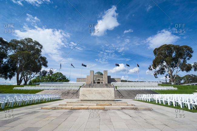 November 6, 2008: Australian War Memorial- Canberra- Australia