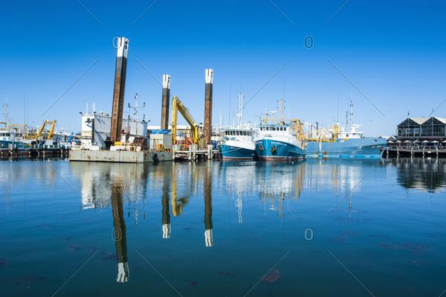 October 10, 2008: Harbor- Freemantle- Western Australia