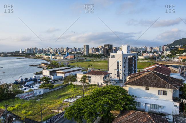 February 2, 2011: Overlook over Florianopolis- Brazil