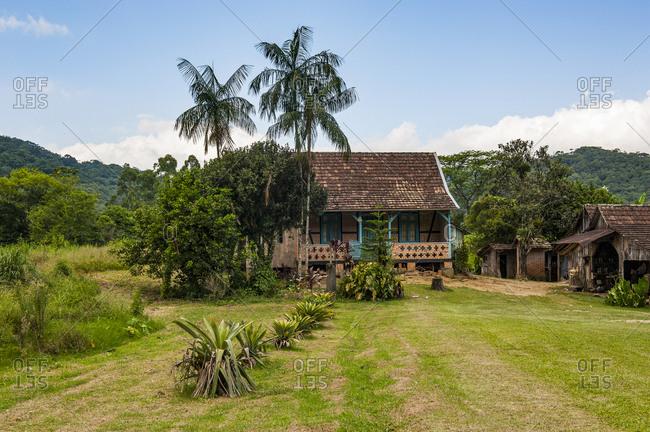 February 3, 2011: Farm in the German valley near Pomerode- Brazil