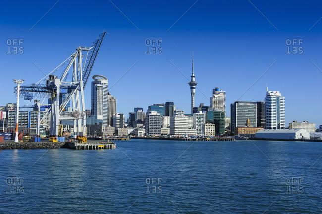 June 13, 2011: Skyline of Auckland- New Zealand