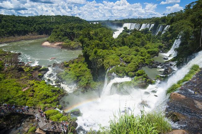 January 21, 2011: Iguazu waterfalls- Argentina- South America