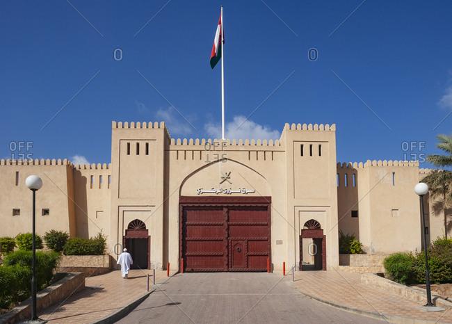 March 5, 2019: Entrance to the Souk- Nizwa- Oman