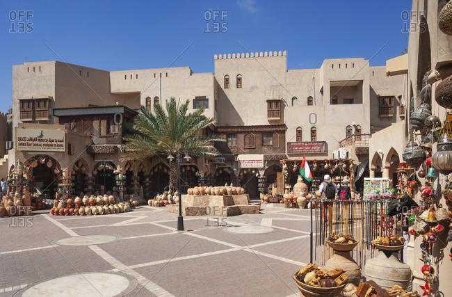 March 5, 2019: Souk- potter market- Nizwa- Oman