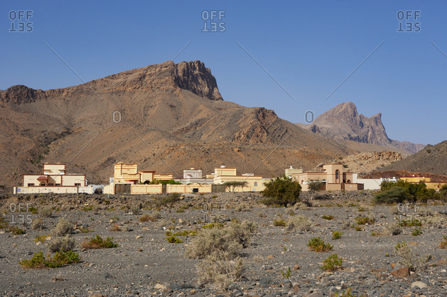 March 6, 2019: Oman- Ad Dakhiliyah Governorate- Al Hurayjah