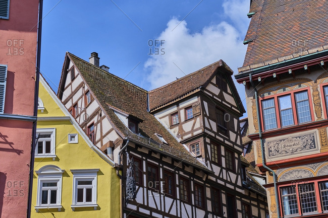 Houses in the old town- Tuebingen- Baden-Wuerttemberg- Germany