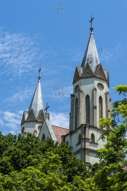 Lutheran church in the German town Blumenau- Brazil