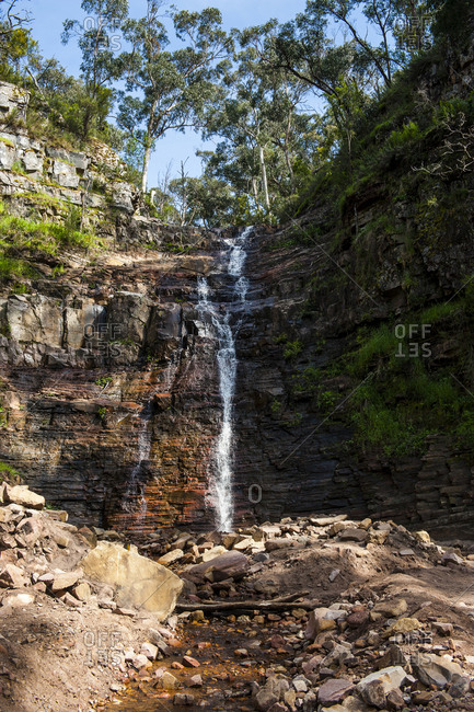 Waterfall in the Grampians National Park- Victoria- Australia