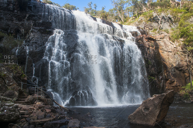 Mac Kenzie waterfalls- Grampians National Park- Victoria- Australia