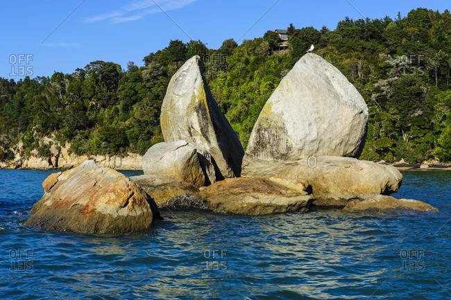 Split apple rock- Abel Tasman National Park- South Island- New Zealand