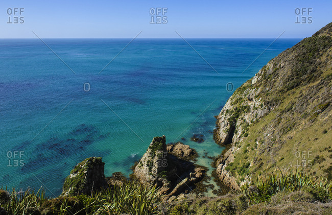 Nugget Point Lighthouse- the Catlins- South Island- New Zealand