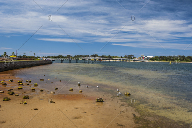 Water channel- Lakes Entrance- Victoria- Australia