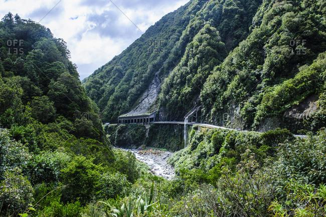 Otira Gorge road- Arthur's Pass- South island- New Zealand