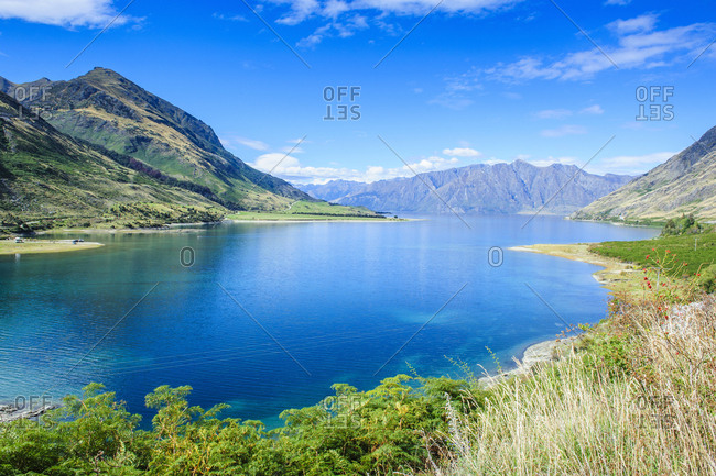 Lake Hawea- Haast Pass- South Island- New Zealand