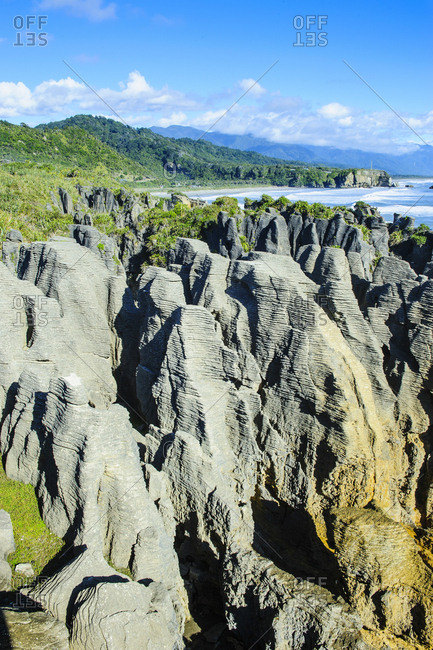 Pancake Rocks- Paparoa National Park- South Island- New Zealand