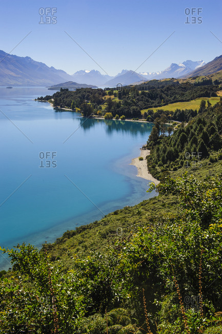 Lake Wakaipu- around Queenstown- South Island- New Zealand