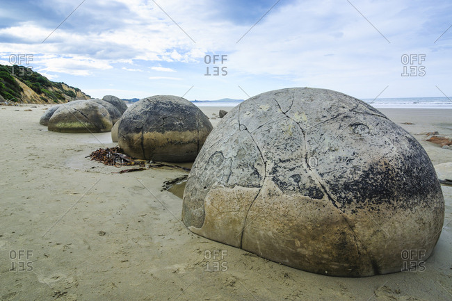 Moeraki Boulders- Koekohe Beach- South Island- New Zealand