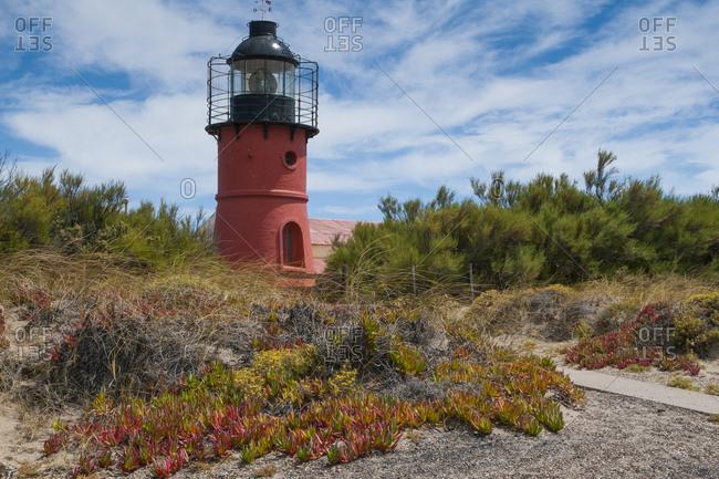 Lighthouse- Valdes Peninsula- Argentina- South America