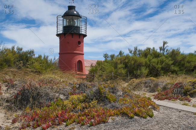 Lighthouse- Valdes Peninsula- Argentina- South America