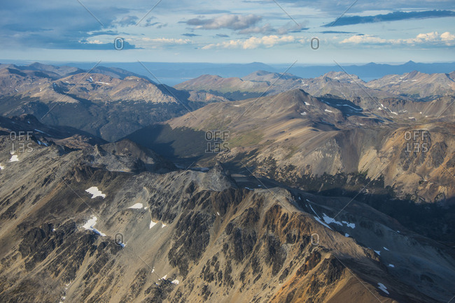 Aerial view of Tierra del Fuego- Argentina