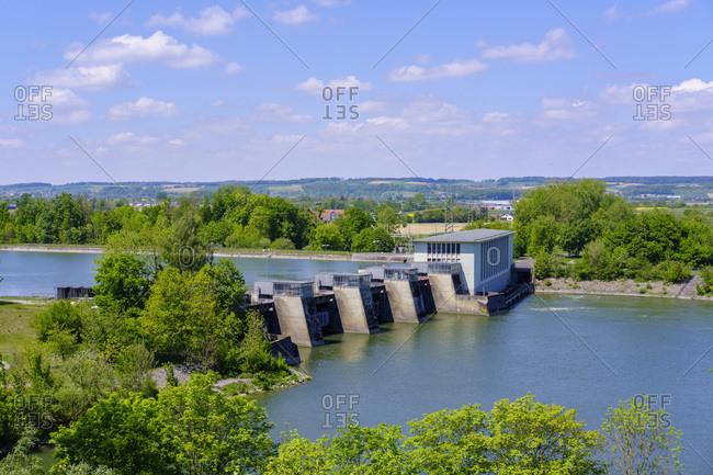 Gummering hydro plant- near Niederviehbach- Bavaria- Germany