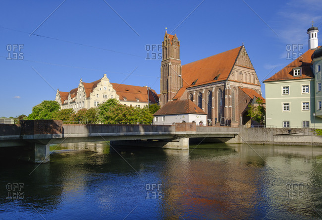Church of the Holy Spirit- Isar- Landshut- Bavaria- Germany