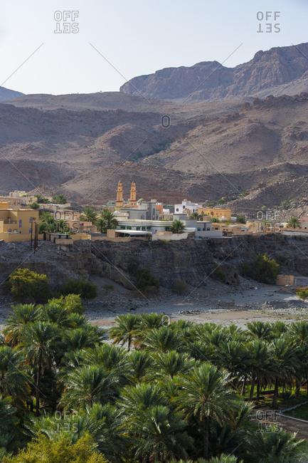 Oman- Ad Dakhiliyah Governorate- Az Zuwayhir- Palm grove