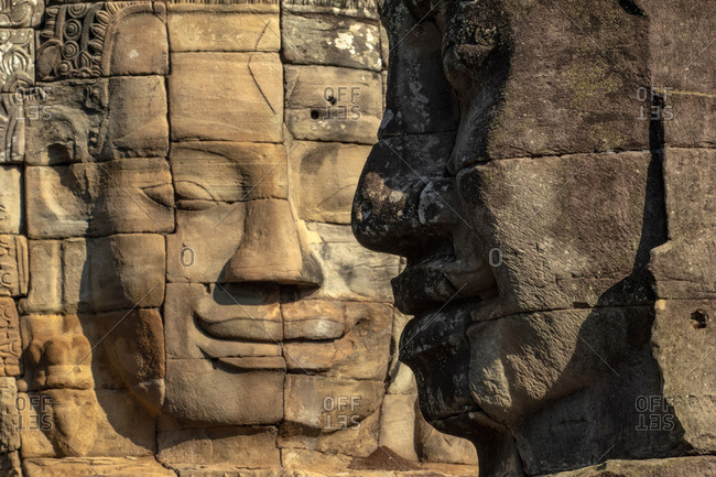 Asia, Cambodia, Siem Reap, UNESCO World Heritage, Angkor Thom, Bayon
