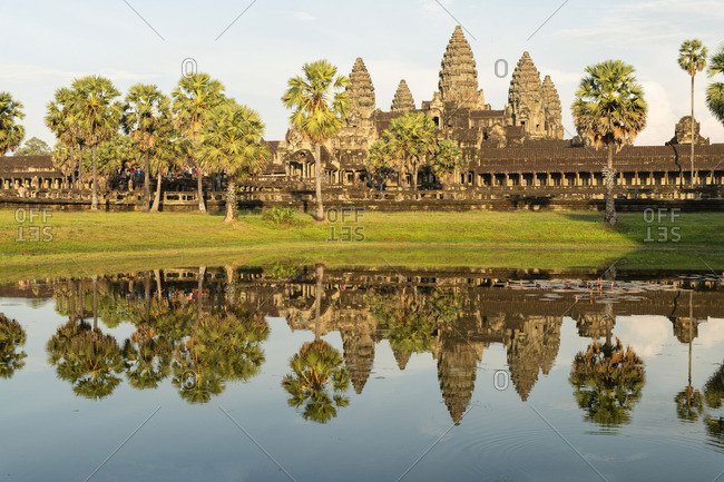 Asia, Cambodia, Siem Reap, UNESCO World Heritage, Angkor Wat