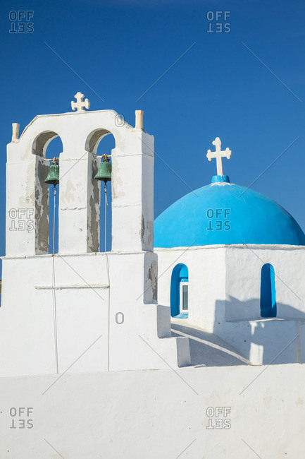 Greek Orthodox chapel, Naousa, Paros, Cyclade Islands, Greece