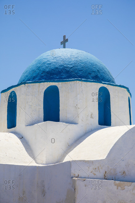 Greek Orthodox chapel, Parikia, Paros, Cyclade Islands, Greece