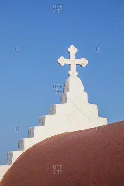 Greek Orthodox chapel, Mykonos Town, Mykonos, Cyclade Islands, Greece