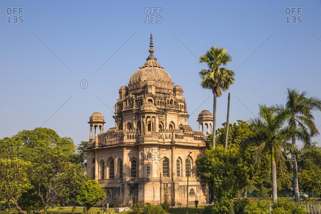 India, Uttar Pradesh, Lucknow, Begum Hazrat Mahal park, Tomb of Khurshid Zadi or Mushir Zadi