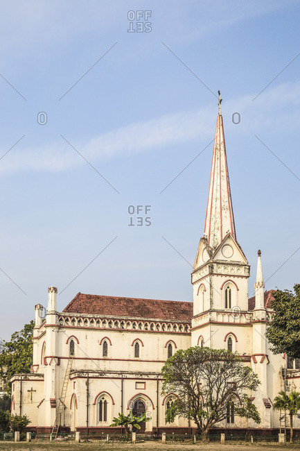 India, Uttar Pradesh, Lucknow, Christ Church cathedral