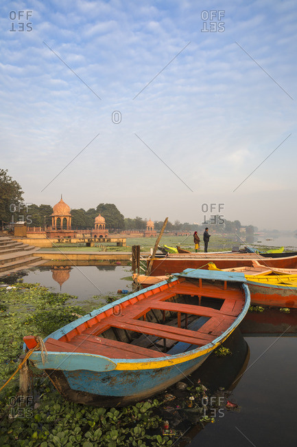 India - February 12, 2019: India, Uttar Pradesh, Lucknow, India, Uttar Pradesh, Lucknow, Kuria Ghat