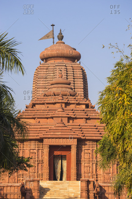 India, Madhya Pradesh, Gwalior, Surya Mandir - Sun Temple, constructed in the shape of a chariot