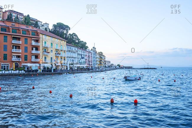 Italy - May 21, 2019: Porto Santo Stefano, Maremma, Grosseto, Monte Argentario, Tuscany, Italy