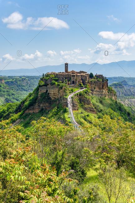 View at Civita di Bagnoregio, Viterbo, Lazio, Italy